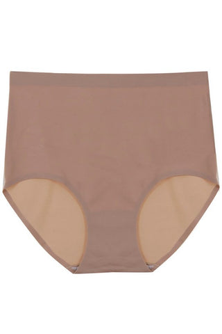 High Waist Briefs - Nude - Hapa Clothing