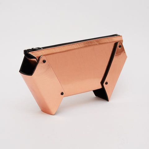 WINGED BOX CLUTCH - COPPER