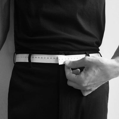 RESTRAINT BELT BLACK