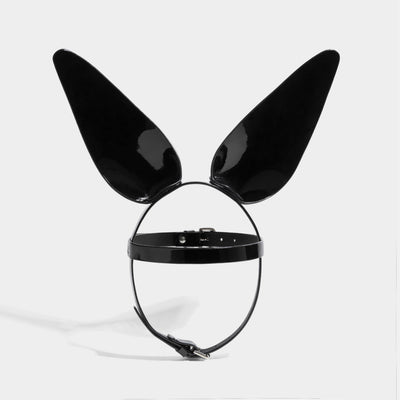 BUNNY EARS BLACK PATENT