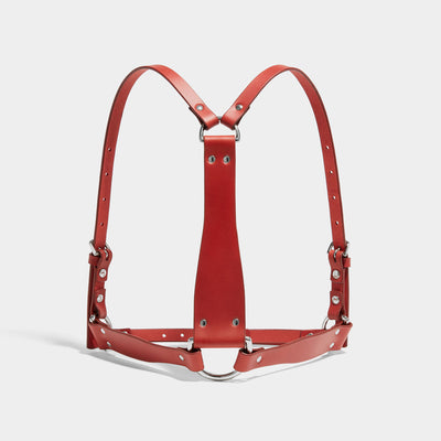 D-RING HARNESS RED