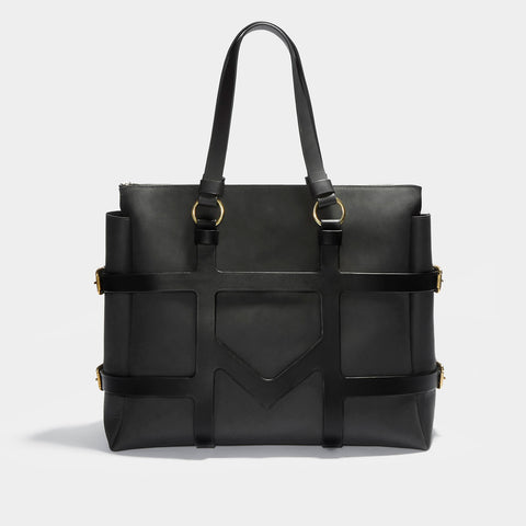 O-RING HARNESS TOTE BLACK