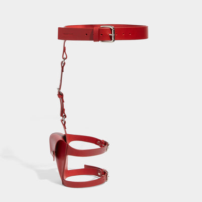 POCKET SUSPENDER HARNESS RED