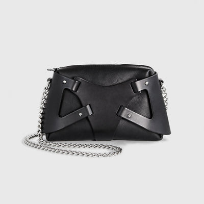 TRIANGLE PIECE BAG BLACK