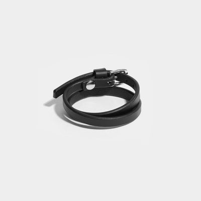 WRAP AROUND CUFF - BLACK