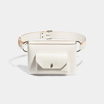 POCKET POUCH BAG - IVORY