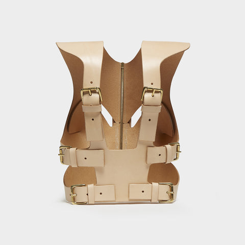 NUDE CROPPED CUT-OUT HARNESS