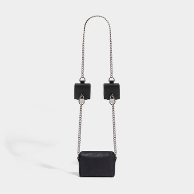 CHAIN PADLOCK POCKET BAG BLACK