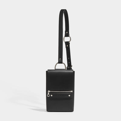 CROSS BODY POUCH BLACK