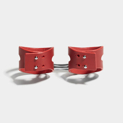 CUT OUT CUFFS - RED