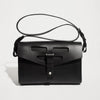 CUT OUT SATCHEL BLACK