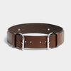 FOUR BUCKLE BELT - BROWN