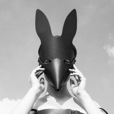 FOX MASK - BLACK