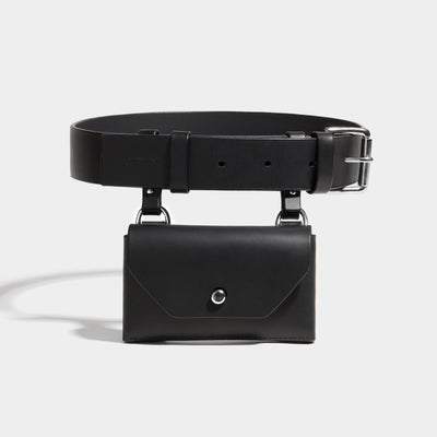 POCKET BELT BLACK