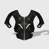 SLEEVED SOFT CUT OUT HARNESS BLACK