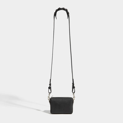 JOINTED POUCH BAG BLACK