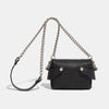 TINY WING CHAIN BAG - BLACK