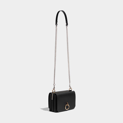TRIPLE POCKET CHAIN BAG