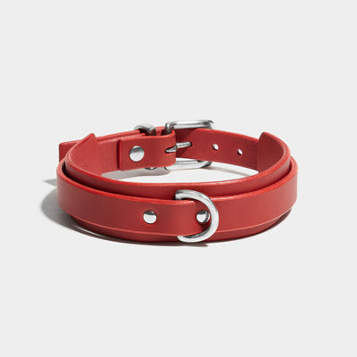 WING COLLAR - RED