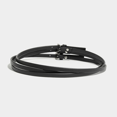 WRAP AROUND BELT - BLACK
