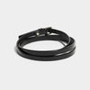 WRAP AROUND CHOKER BLACK PATENT