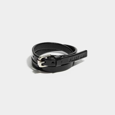 WRAP AROUND CUFF BLACK PATENT