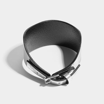 HIGH POSTURE COLLAR - SILVER