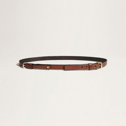 SLIM DOUBLE BUCKLE BELT