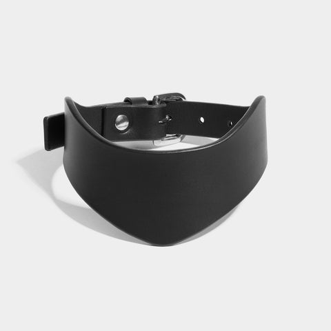 POINTED COLLAR - BLACK