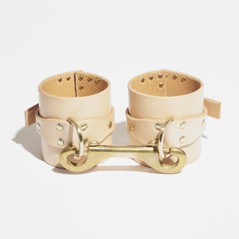 NUDE CORNER STUDDED CUFFS - ANKLE
