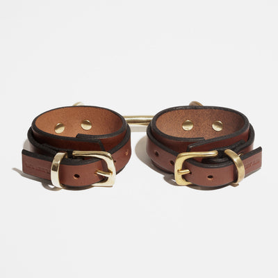 WING CUFFS BROWN - WRIST