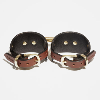LAYERED STUDDED CUFFS - ANKLE