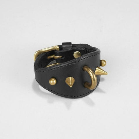 STUDDED SPIKE CUFFS - WRIST