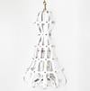 PENDULUM CHANDELIER (INVERTED) - WHITE
