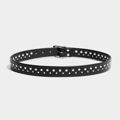 STUDDED BELT - BLACK