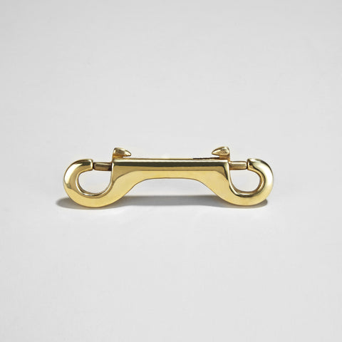 BRASS DOUBLE END TRIGGER HOOK
