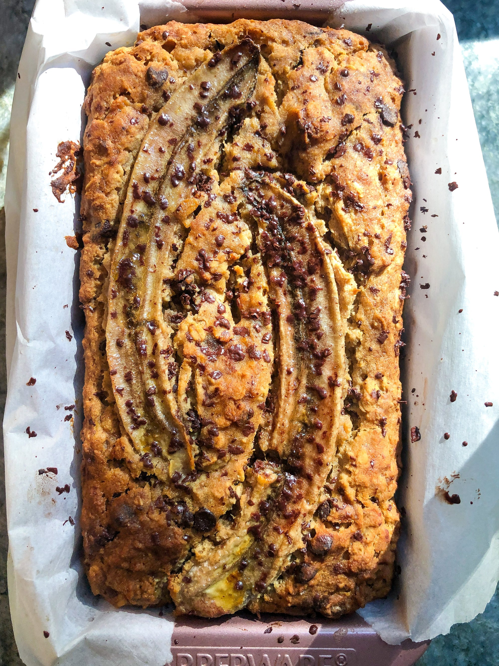Sacha Inchi Banana Bread (GF, Vegan, One-Bowl)