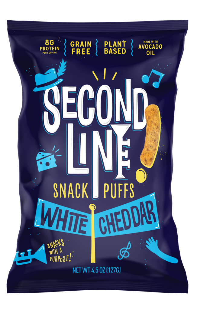 Second Line White Cheddar