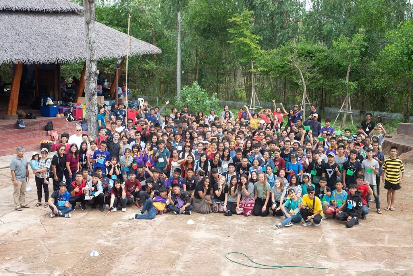 Thailand youth camp sacha inchi