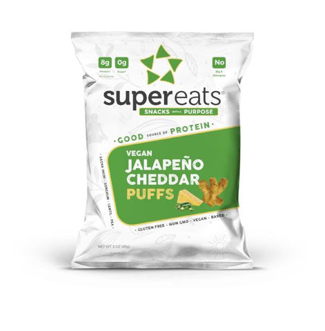 High Protein Puffs - Jalapeno Cheddar