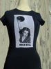 Retro Silk Screened Lady Bowler