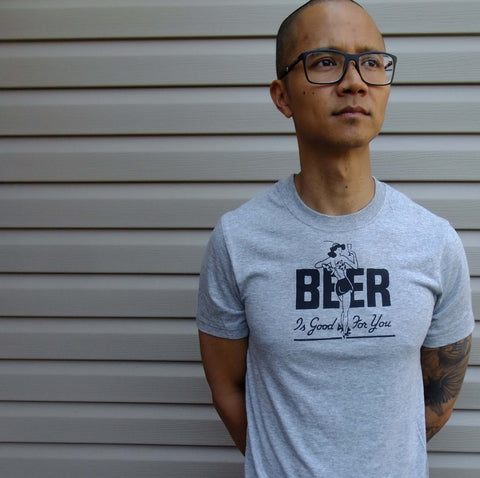 Beer is Good For you. shirt S-XL