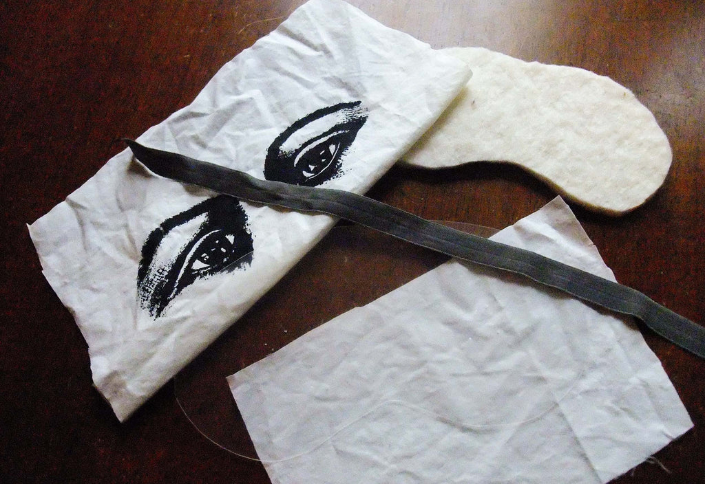 D.I.Y. Creepy Sleep Mask Kit
