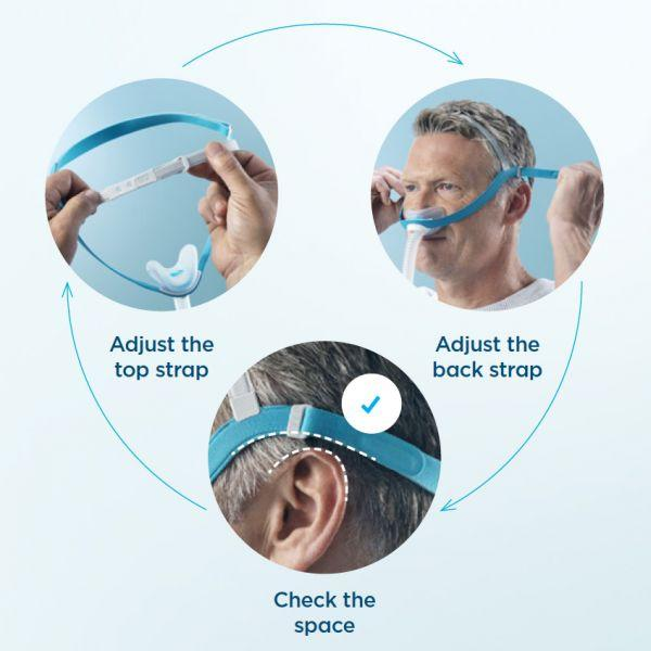 Evora CapFit Headgear for CPAP - CPAPnation
