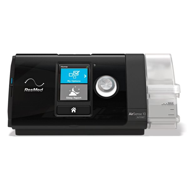 Re-certified AirSense 10 Auto CPAP Machine with Humidifier, Heated Tubing, & 2-Year Warranty - CPAPnation