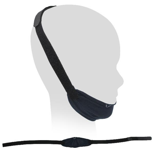 Variety of Adjustable Black Chinstraps for CPAP Therapy - CPAPnation