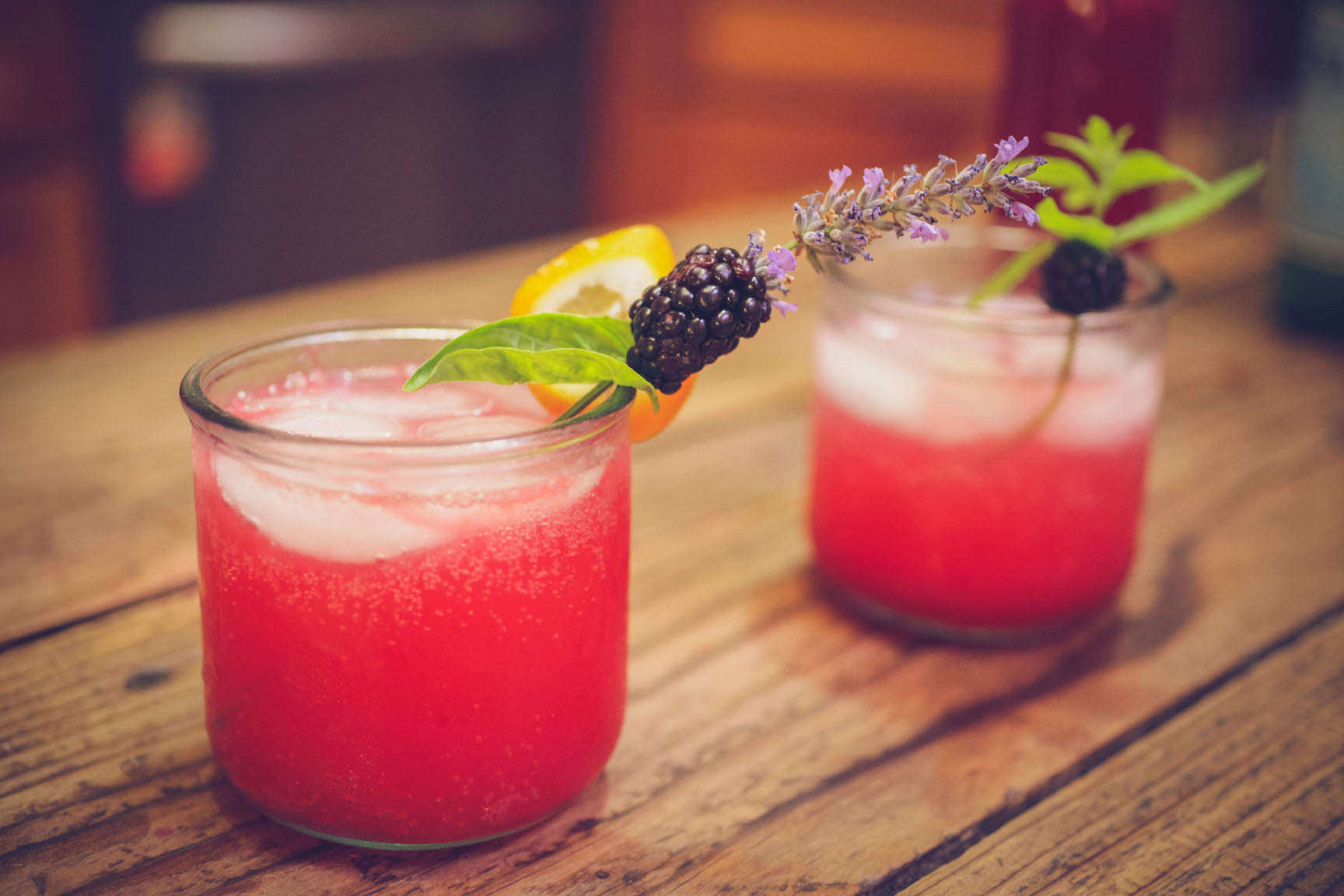 Lemon, Basil and Blackberry Shrub | Mountain Feed & Farm Supply