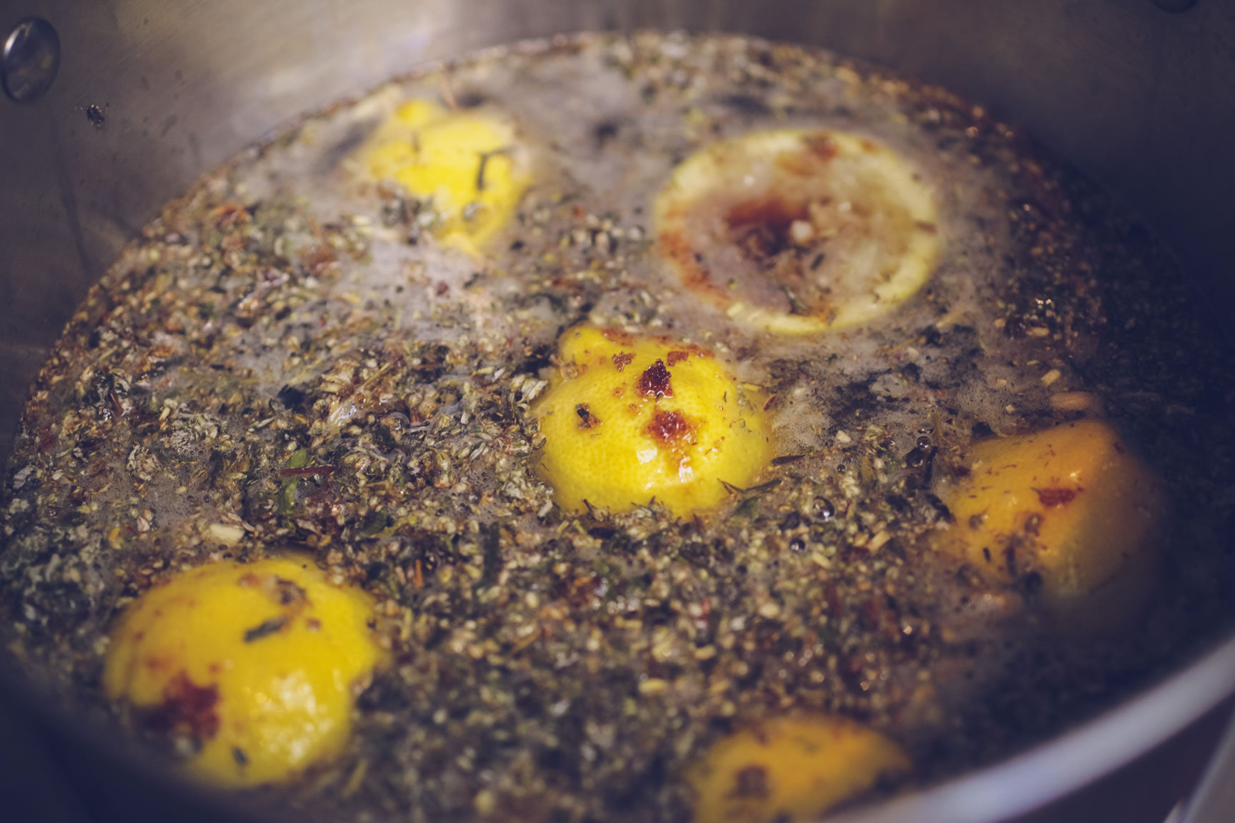 mugwort lemon beer boil