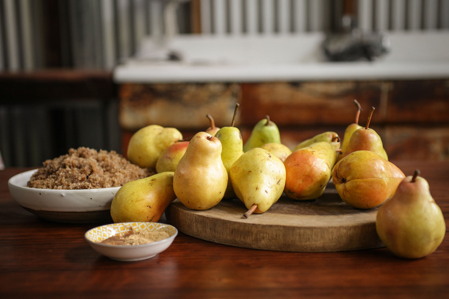 pear butter ingredients