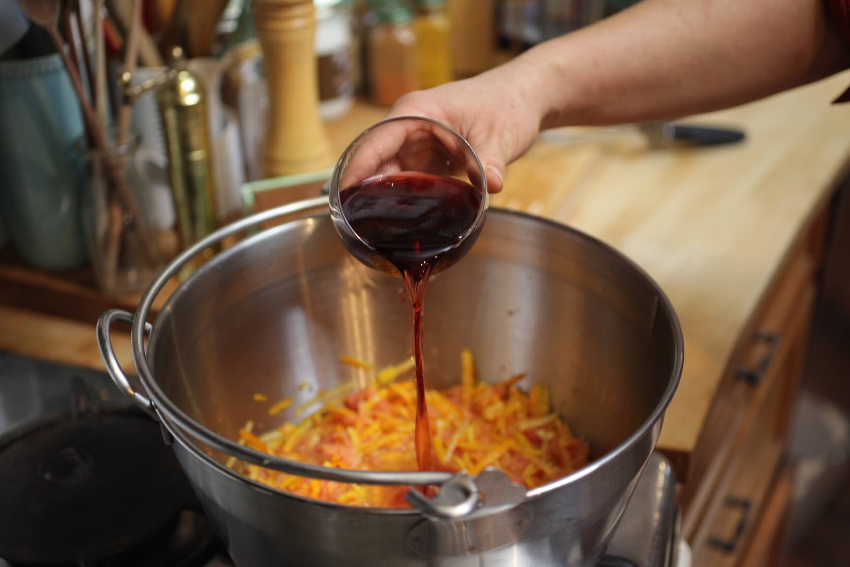 blood orange port marmalade recipe - specialty home canning recipe